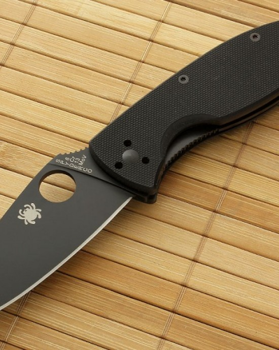 Spyderco - Tenacious - Black - C122GBBKP