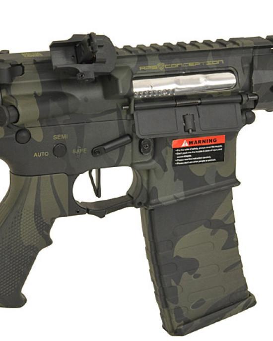APS - M4 Spyder - ASR115 EBB - Multicam Black
