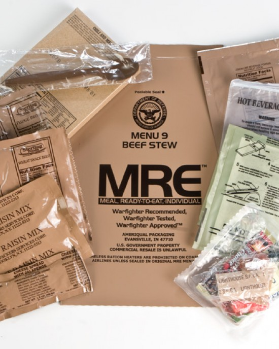 Ameriqual - MRE - Meal Ready to Eat - 2020 - Meniu 9 - Beef Stew
