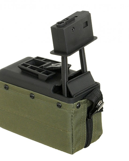 A&K - Incarcator M249 - 1500bb - Compact - Diverse Culori