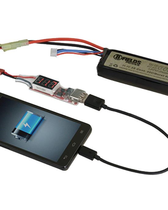Ghost Works - Adaptor Incarcare - Baterie Externa - LiPo