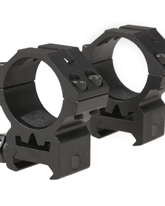 Theta Optics - Inele Optice - 30mm - Profil jos
