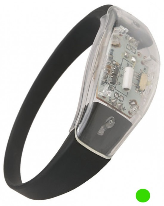 Emerson - Marker Pozitie - Runner LED Bracelet - Verde