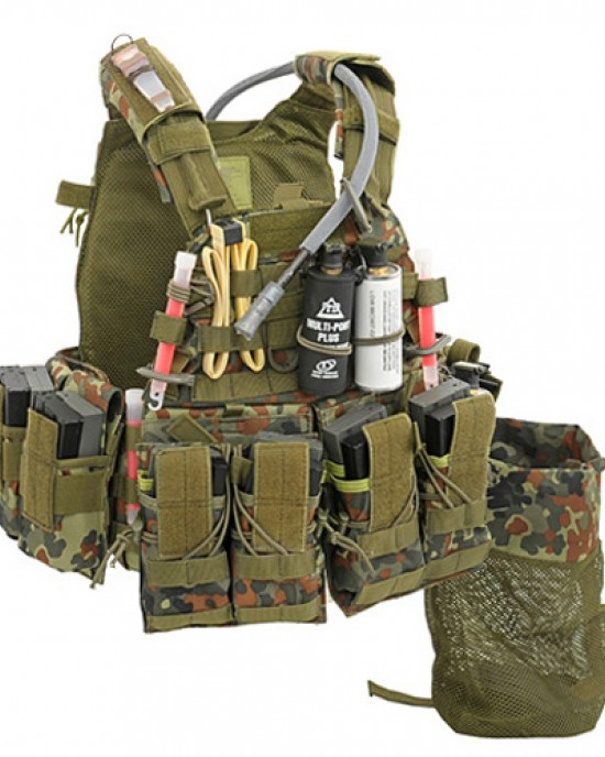 FMA - D-Ring MOLLE - Dark Earth