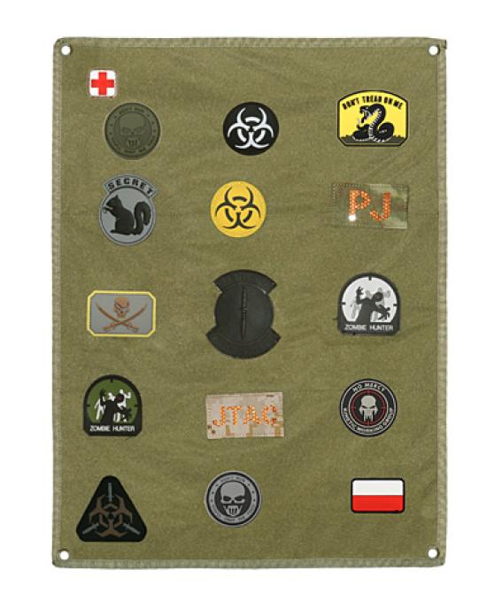 8F - Suport Perete - Velcro - Embleme - Diverse Culori